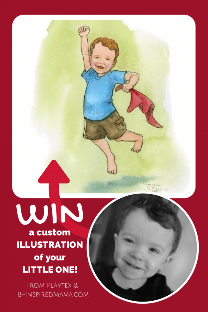 Win a Custom Illustration of Your Child - #Sponsored by Playtex Beginnings Imagined at B-Inspired Mama