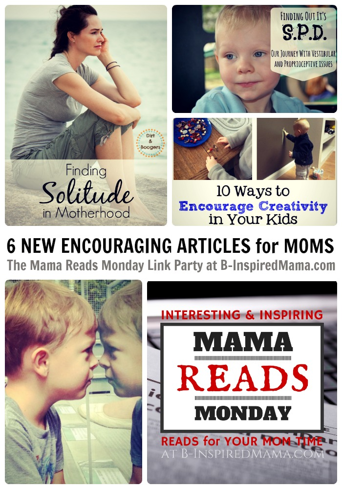 Mama Reads Monday - Interesting & Inspiring Reads for Moms