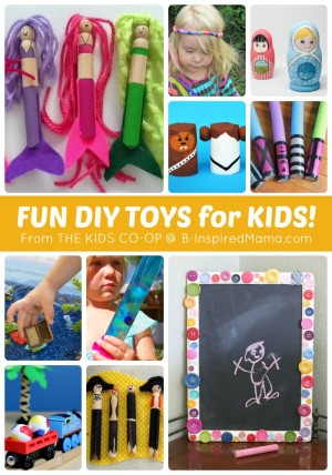 http://b-inspiredmama.com/wp-content/uploads/2014/07/MORE-DIY-Toys-for-Kids-from-The-Weekly-Kids-Co-Op-Link-Party-at-B-Inspired-Mama-300x428.jpg