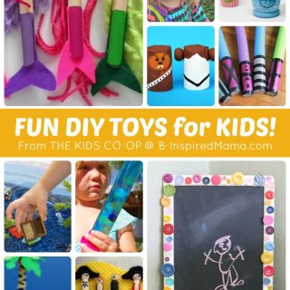 More DIY Toys from The Weekly Kids Co-Op