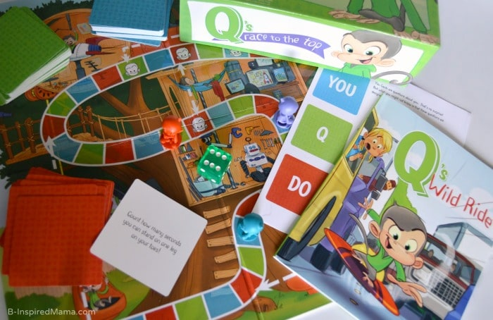 A Kids Board Game for Making Emotional Intelligence Practice Fun at B-Inspired Mama #ad #PMedia #QsRaceToTheTop