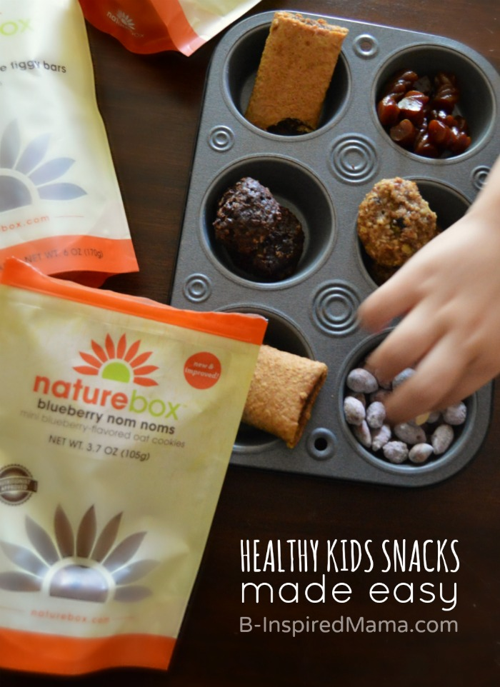 Healthy Kids Snacks Made Easy - #sponsored #natureboxsnacks #clevergirls at B-Inspired Mama