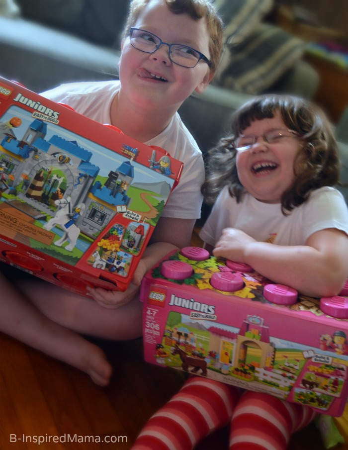LEGO Learning Activities + Our New LEGO JUNIORS Sets [#Sponsored by @LEGO_Group #LEGOJuniorMakers #CG] at B-Inspired Mama