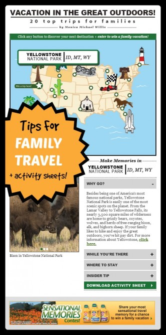 Smart Family Travel Inspired by Arm & Hammer + Kids Activty Printables from Scholastic - at B-Inspired Mama