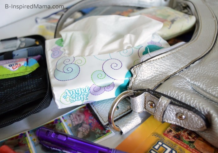 What's In My Purse - And What Does It Say About Me - #Sponsored B-Inspired Mama