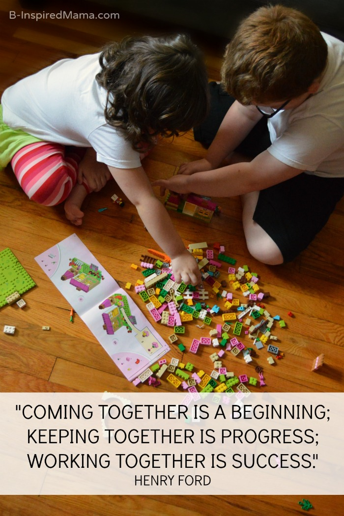 Working Together on LEGO JUNIORS + LEGO Learning Activities [#Sponsored by @LEGO_Group #LEGOJuniorMakers #CG] at B-Inspired Mama