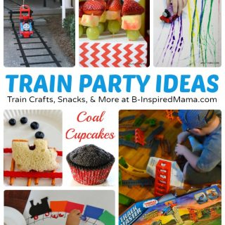 Thomas Inspired Train Crafts and Party Ideas