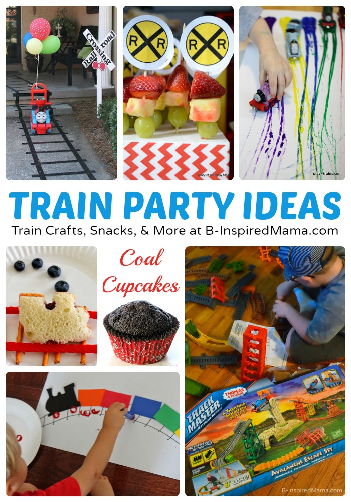 Clever Train Crafts And Party Ideas Inspired Sponsored By Thomas Friends