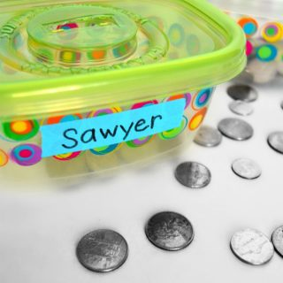 Encouraging Positive Behavior and Healthy Habits Using a SIMPLE Coin Reward System [#sponsored by Listerine] at B-Inspired Mama