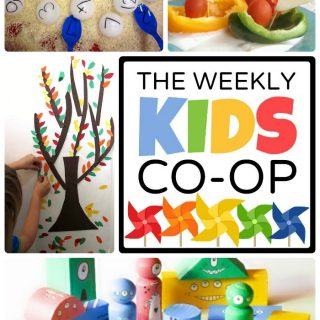 Kid-Friendly Fun at The Weekly Kids Co-Op Link Party at B-Inspired Mama