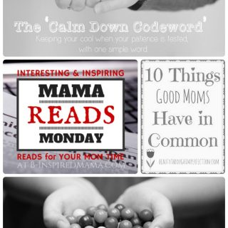 Mama Reads Monday - Codewords, Gumballs, & Apologizing FOR Kids - A Link Party for Inspiring Parenting Posts at B-Inspired Mama