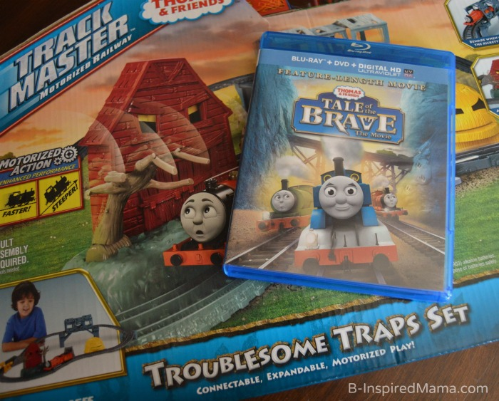 Our Thomas the Trackmaster Movie + Thomas Inspired Train Crafts and Activities at B-Inspired Mama