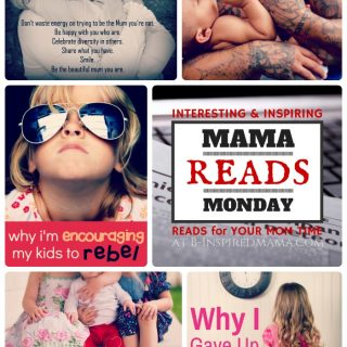 The Mama Reads Monday Link Party - Time Outs, Fathers, Rebellion, and MORE! at B-Inspired Mama