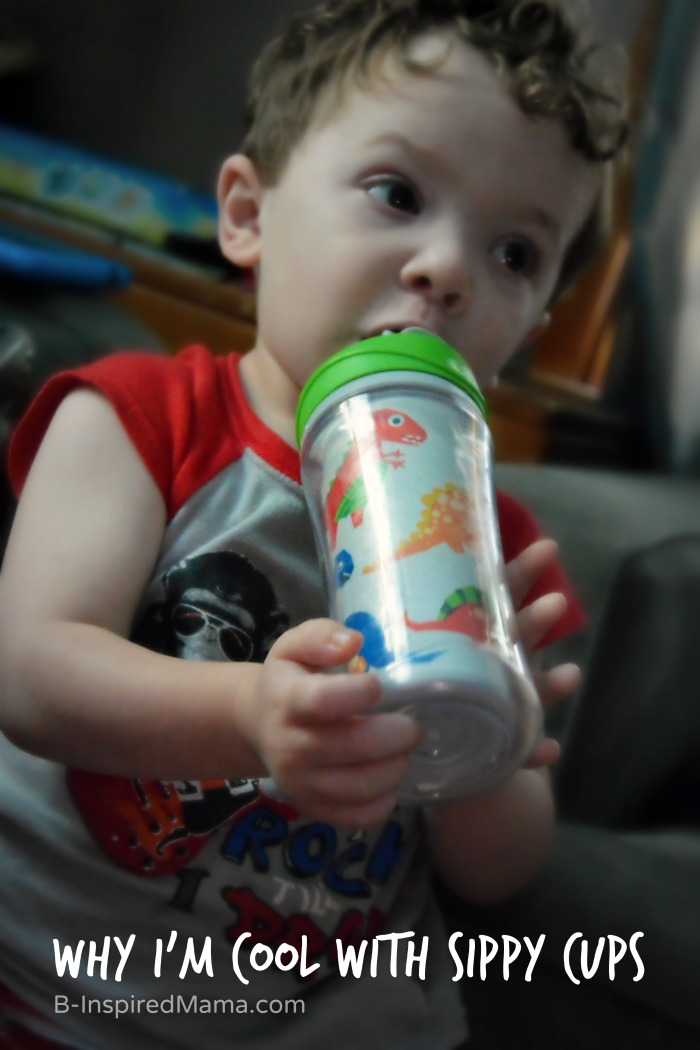 Why I'm Okay With My Kids Still Using Sippy Cups [#sponsored by Playtex] at B-Inspired Mama