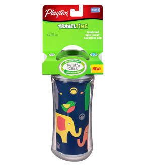 Playtex TravelTime Sippy Cups at B-Inspired Mama