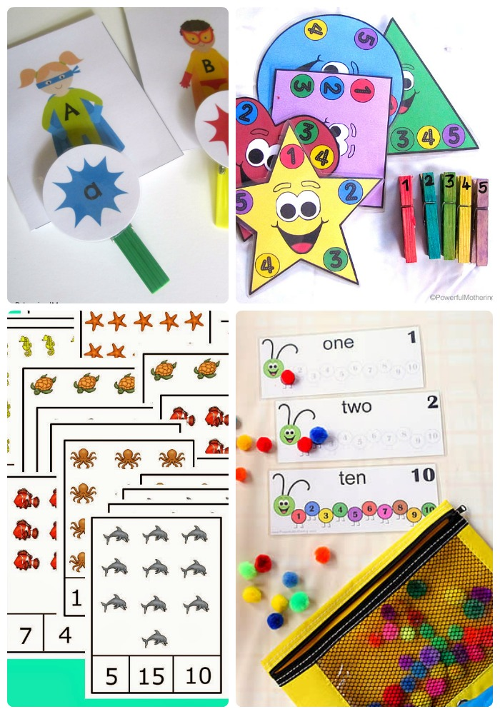 100+ Awesome Busy Bags + The Weekly Kids Co-Op Link Party at B-Inspired Mama