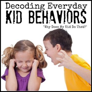Decoding Everyday Kid Behaviors - How to Handle a Clumsy Kid at B-Inspired Mama