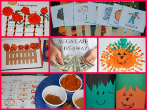 50 Pumpkin Learning Activities at The Preschool Toolbox