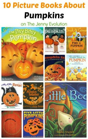 Pumpkin Books + 16+ Pumpkin Themed Early Learning Ideas at B-Inspired Mama