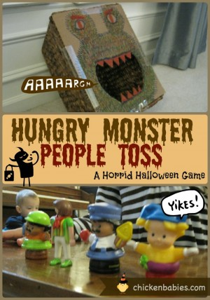 Monster People Toss + 50+ Kids Halloween Party Ideas at B-Inspired Mama