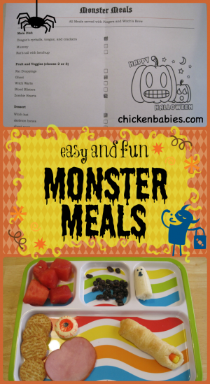 Easy Monster Meals + 50+ Kids Halloween Party Ideas at B-Inspired Mama