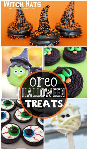 Oreo Halloween Treats + 50+ Kids Halloween Party Ideas at B-Inspired Mama