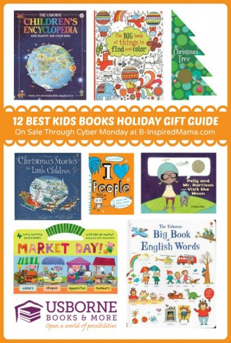 19 of My Favorite Children's Books - On Sale Through Cyber Monday - A Holiday Gift Guide at B-Inspired Mama