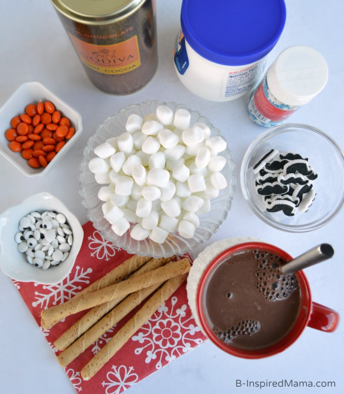 Ingredients for Snowman Soup - A Fun Family Tradition for the First Snow at B-Inspired Mama #sponsored by #Vaseline