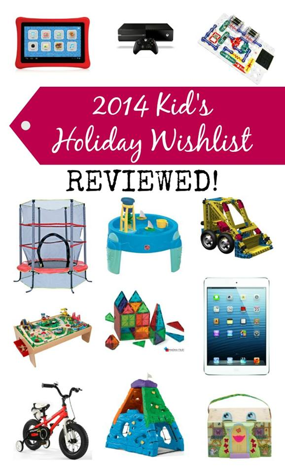 Kids Holiday Wishlist - The Best Toys and Gifts for Kids REVIEWED at B-Inspired Mama
