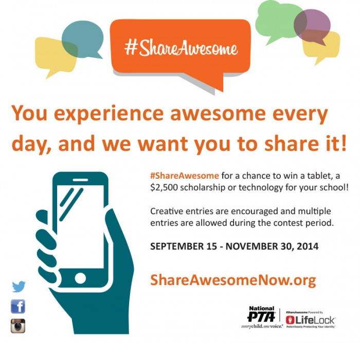 The #ShareAwesome Campaign for Digital Safety + 6 Tips for Kids Internet Safety at B-Inspired Mama #Sponsored by #ShareAwesome
