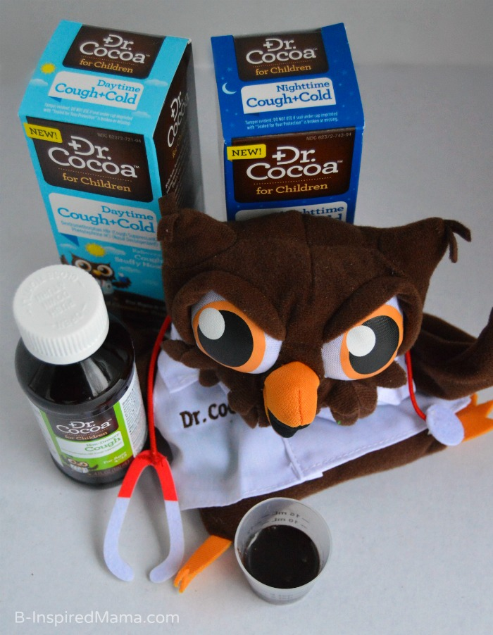 Try Dr. Cocoa for Children to Get Kids to Take Medicine Without the Fuss at B-Inspired Mama #Sponsored by #DrCocoaReliefWithASmile