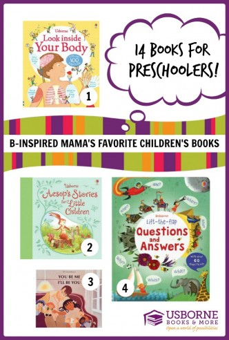 14 Favorite Children's Books for Preschoolers at B-Inspired Mama