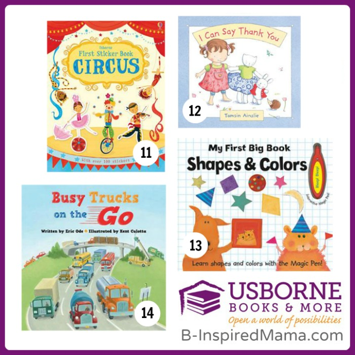14 Favorite Children's Books for TODDLERS at B-Inspired Mama
