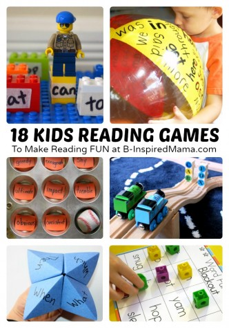 18 Fun Kids Reading Games and Activities [Sponsored by Rosetta Kids Reading #RSKids #MC] at B-Inspired Mama