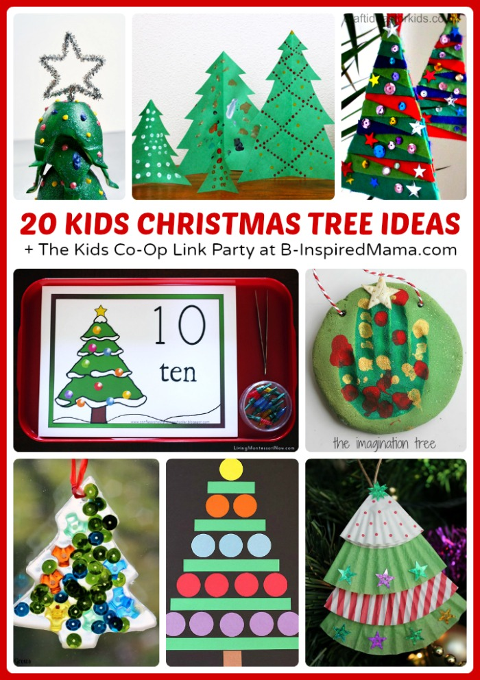 Christmas Tree Christmas Activities for Kids • B-Inspired Mama