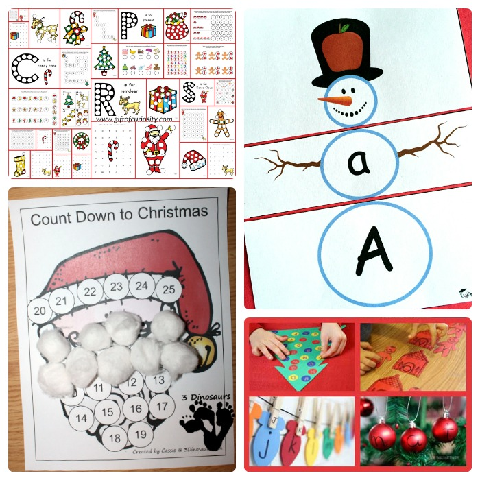 38 Educational Christmas Activities for Kids + The Weekly Kids Co-Op Link Party at B-Inspired Mama