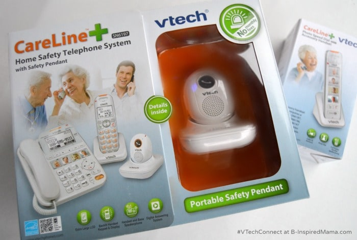 A Holiday Gift Guide for Grandparents - Including a VTech CareLine Giveaway at B-Inspired Mama [#Sponsored #VTechConnect]