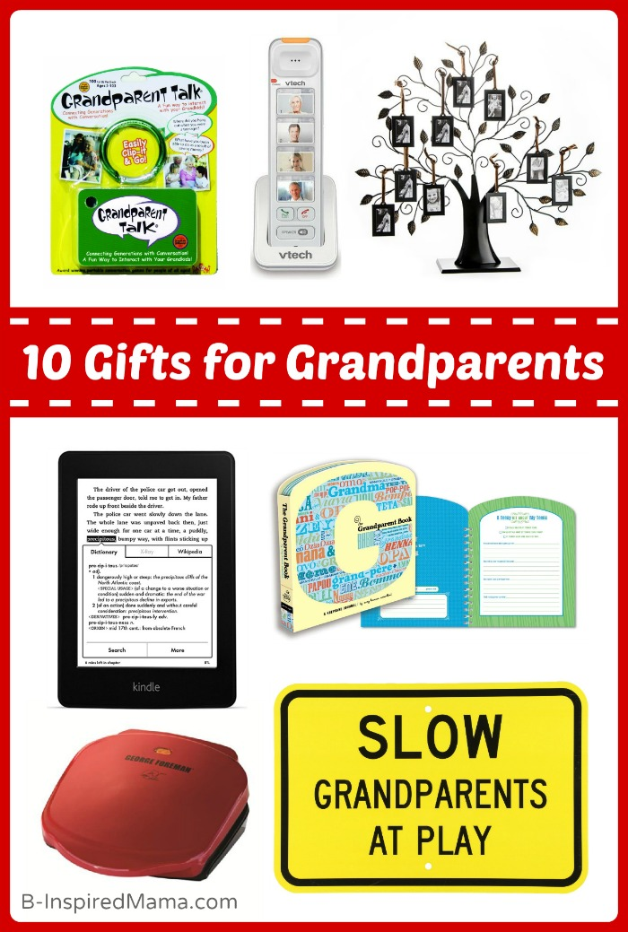 A Holiday Gift Guide for Grandparents - Including a VTech Giveaway at B-Inspired Mama [#Sponsored #VTechConnect]