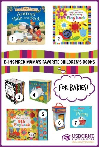 B-Inspired Mama's Favorite Children's Books for BABIES