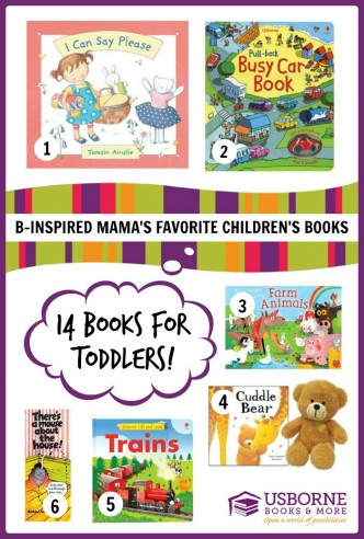 B-Inspired Mama's Favorite Children's Books for TODDLERS