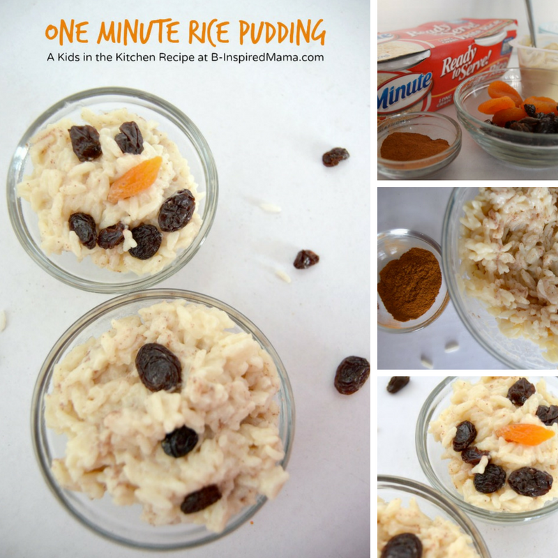 Snowman Rice Pudding Recipe for Kids