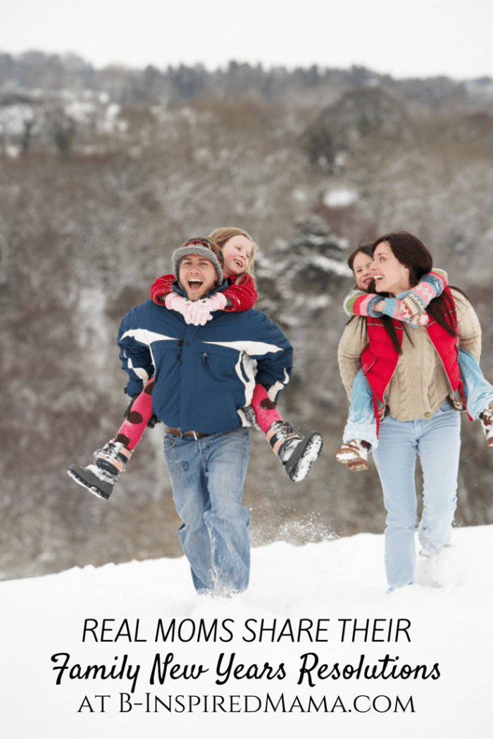 10 Family New Years Resolutions from Real Moms [Sponsored by Progresso] at B-Inspired Mama