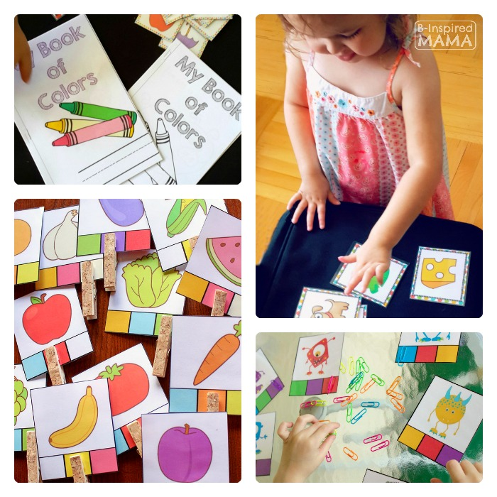 Fun and Free Preschool Printables From Life Over C's at B-Inspired Mama