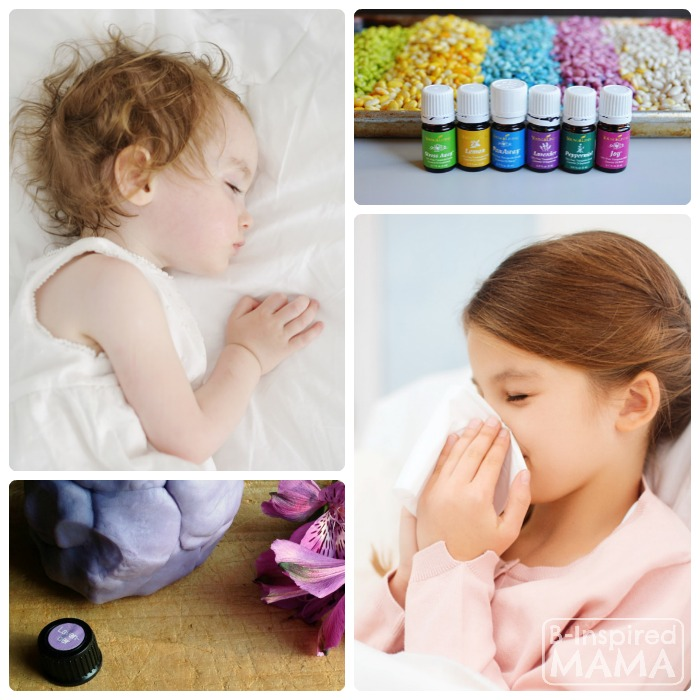 How to Use Essential Oils with Kids - Safely, Therapeutically, and Playfully - at B-Inspired Mama
