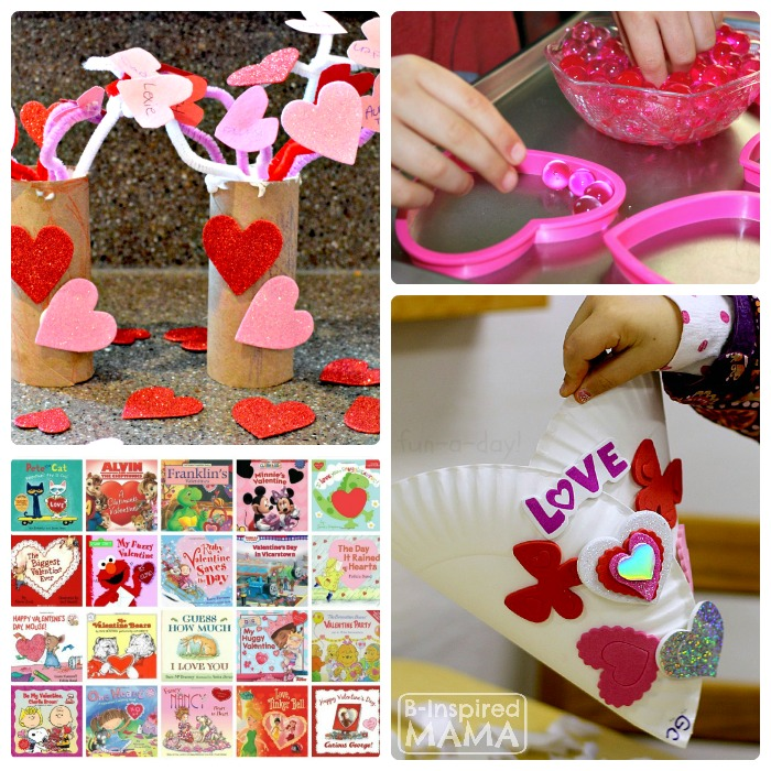 Kids Valentine Party Ideas + The Kids Co-Op Link Party at B-Inspired Mama