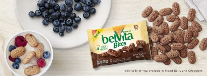 belVita Bites Breakfast Bisquits for Better Morning Routines - B-Inspired Mama