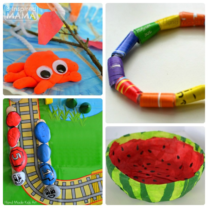 Creative Kids Sculpture Art Projects from Hand Made Kids Art - B-Inspired Mama