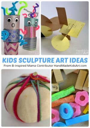 http://b-inspiredmama.com/wp-content/uploads/2015/02/Creative-Kids-Sculpture-Art-Projects-from-Hand-Made-Kids-Art-at-B-Inspired-Mama-300x429.jpg