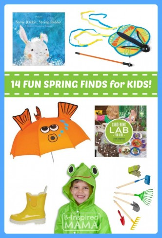 Fun Finds for Kids - 14 Kids Spring Essentials at B-Inspired Mama
