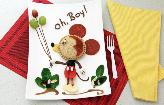 Mickey Mouse-Inspired Food Art + More Kids in the Kitchen Fun at B-Inspired Mama